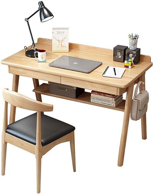 Amazon.com: Oureong Computer Desk Vintage Simple Study ...