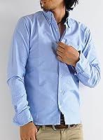 ARCADE(アーケード) 10color メンズ 長袖シャツ 七分袖シャツ ワイヤーカラーテープオックスボタンダウンシャツ