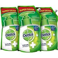Dettol Original Liquid Soap Refill - 750 ml (Pack of 3)