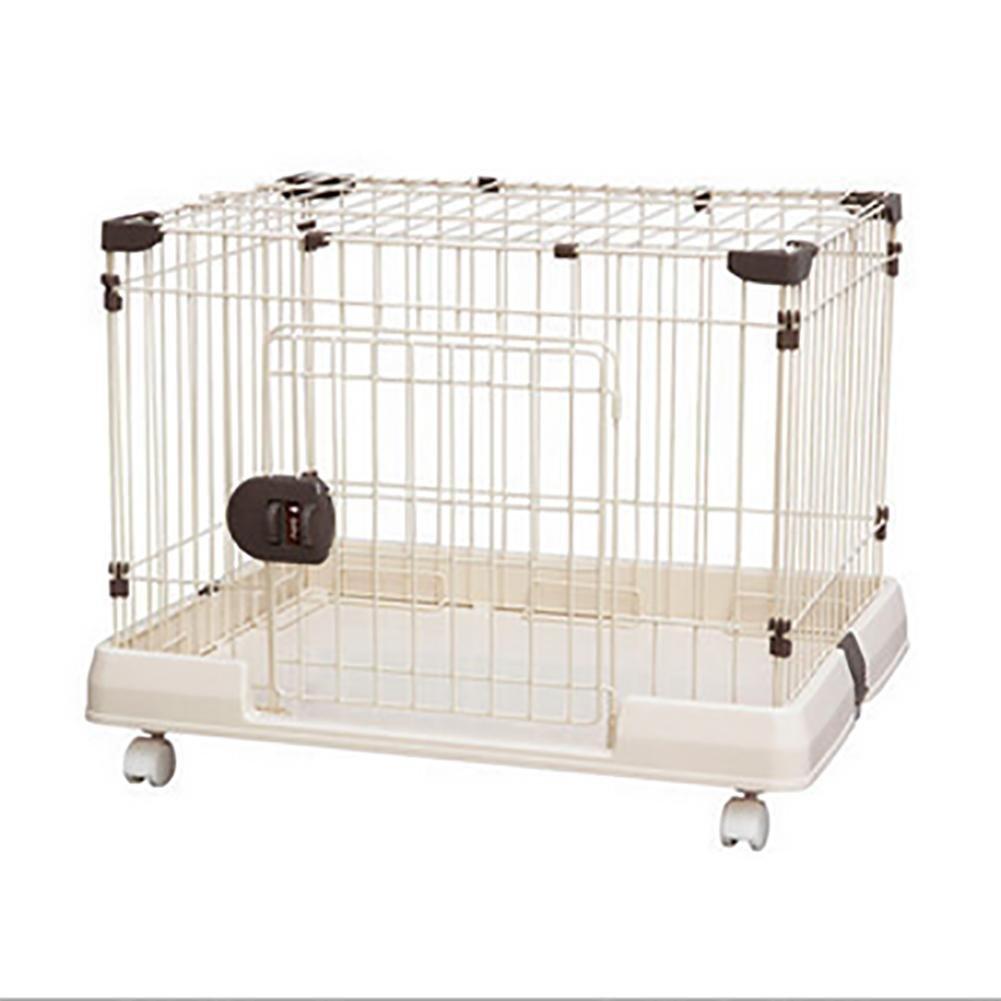 GUO Abnehmbare Drahtzaun Haustier Hund kleiner Hund Käfig Rost kann sich nicht bewegen