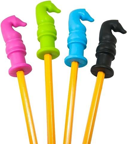 Dsaren 5 Sûr Silicone Oral Motor Chew Pencil Toppers Idéal Embouts de Crayon