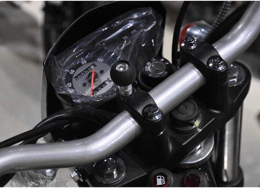 Elenxs Motorrad Fahrrad Roller Lenkerklemme Kugelmontage Basis Ersatz Für Ram Mount Actionkameras Handyhalter Bolt Bracket Küche Haushalt