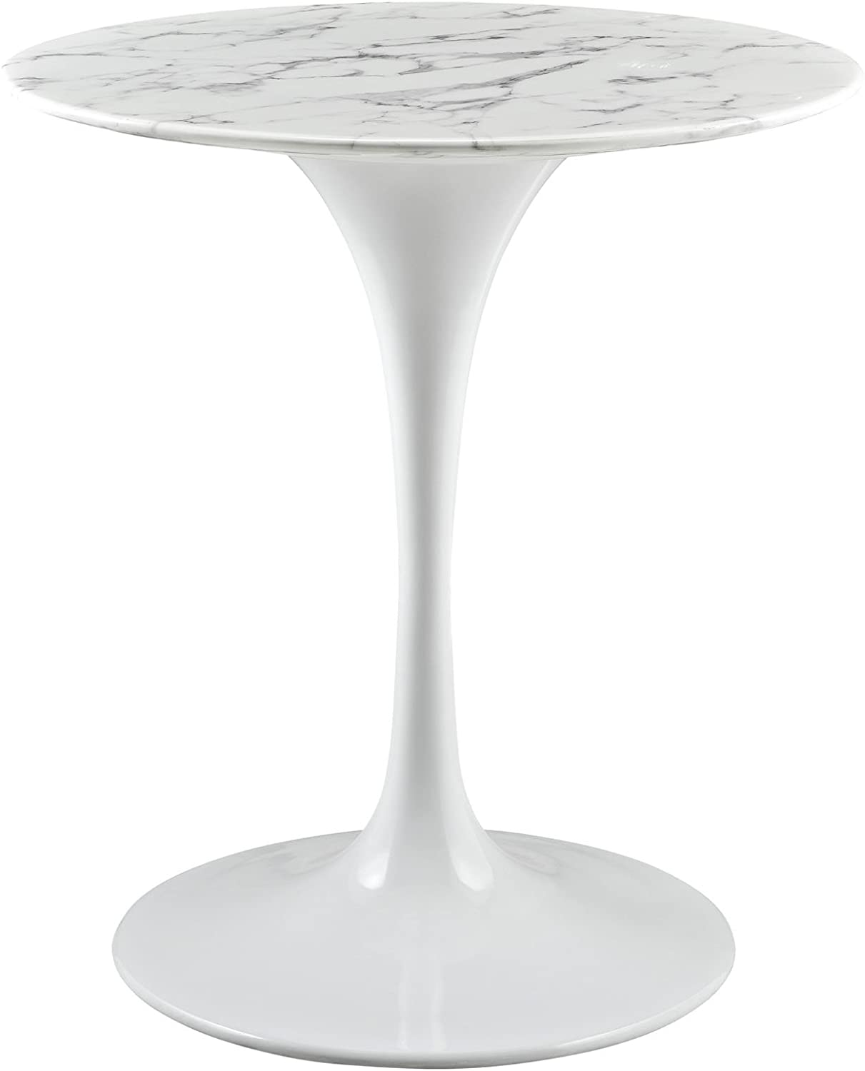 28 in. Artificial Marble Dining Table