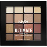 NYX PROFESSIONAL MAKEUP Ultimate Shadow Palette 眼影盘,温暖大地色,1盘装