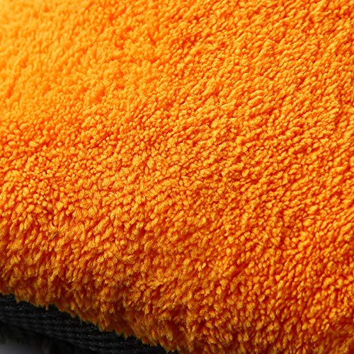 Coral Coral Coral Fleece Autowaschhandschuh Reinigungshandschuh Kurzer Wollhandschuh Autowaschbürste (Farbe   Orange, Größe   L-Ten pairs) B07Q29M57T Bürsten 4a70ca