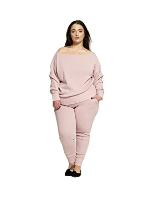 buying now many styles newest selection Divadames Womens Plus Size Loose Fit Lounge Wear Tracksuit Ladies  Sportswear Size UK 14/16-22/24