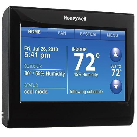 Honeywell - Termostato inteligente Wi-Fi con control de voz