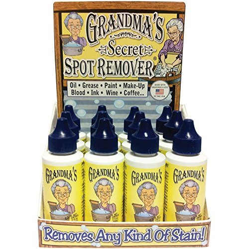 Grandma's Secret 16dp Spot 16 Display Box 2oz Bottles-Just a Drop Removes Virtually All Kinds of Stains, white