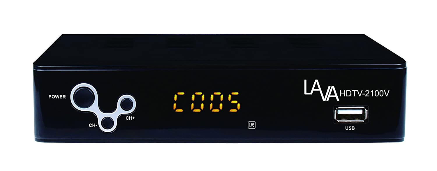 HD DVR/ Converter Box with 16GB Memory Stick Lava Electronics HDTV-2100