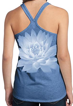 945283f534ca0 Yoga Clothing For You Ladies Lotus Flower T-Back Tank Top at Amazon ...