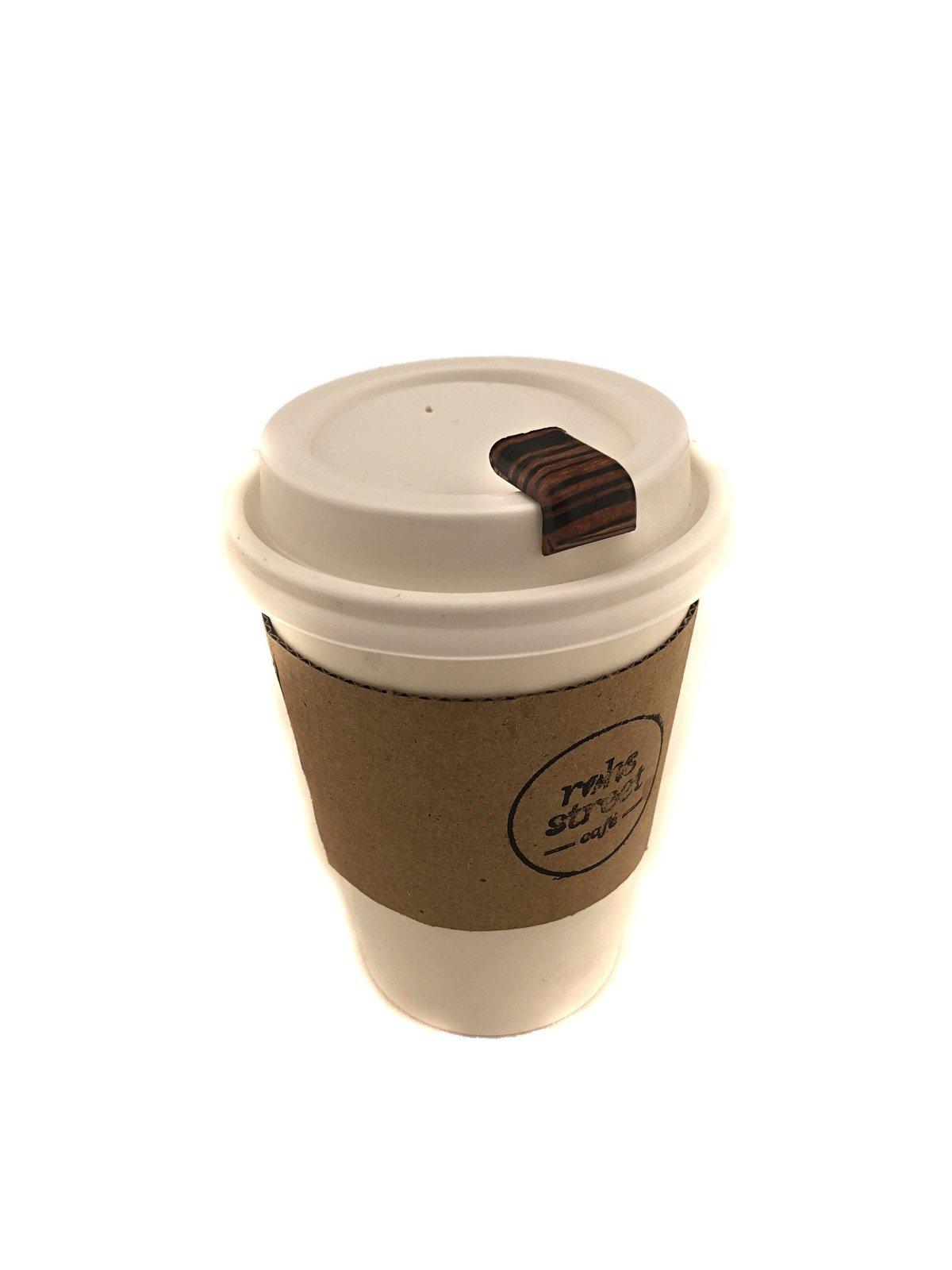 Cofftop Coffee Beverage Plug (Wood Grain)