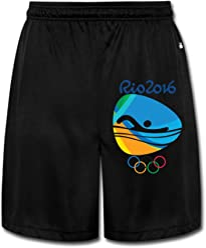 8bf69354f8d XiaoLiXun Men s Swimming Logo Rio Olympics 2016 Shorts Sweatpants