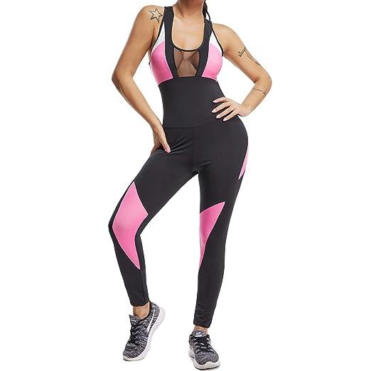 Amazoncom Fittoo Womens Sexy One Piece Fitness Bodysuit Backless