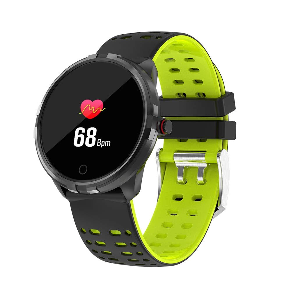Smart Watches for Men Waterproof, Smart Watch Band Bracelet Sport Fitness Tracker Blood Pressure Heart Rate IP68 for Father Men Student Youth Teens Boyfriend Lover's Birthday Anniversary Gift