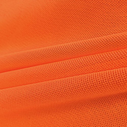 Solid Power Mesh Fabric Nylon Spandex 60