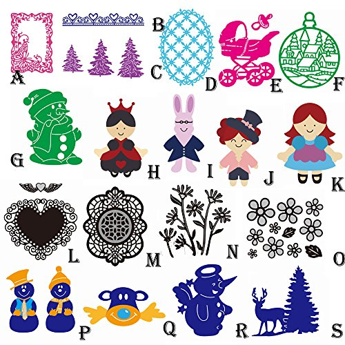 ZOMUSA Christmas Halloween Metal Cutting Dies Stencils Scrapbooking Embossing DIY -