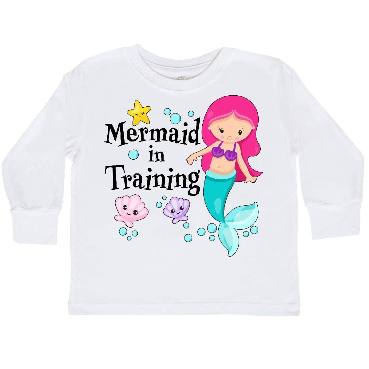 inktastic Mermaid Toddler T-Shirt