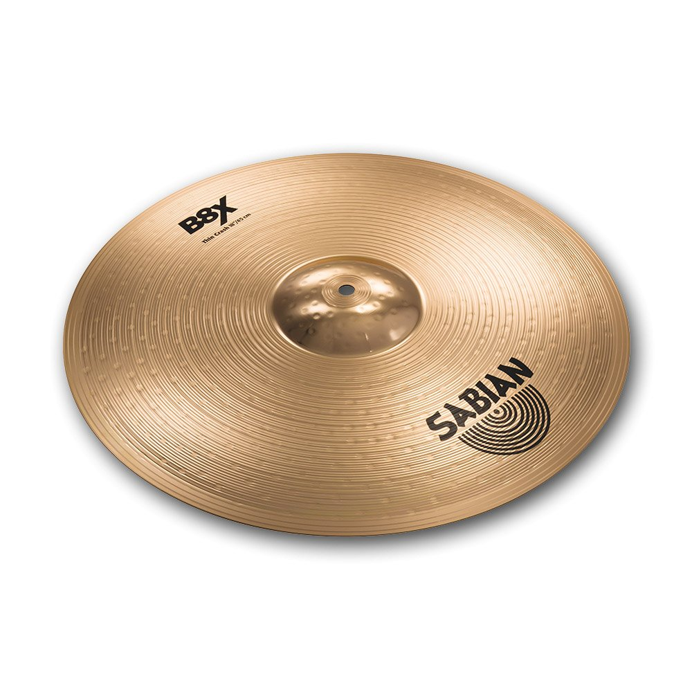 Sabian 41806X 18-Inch B8X Thin Crash Cymbal