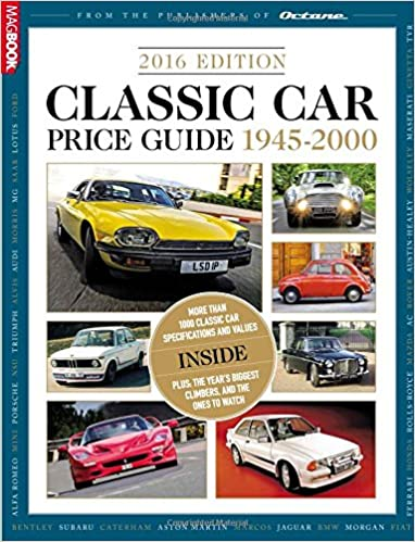Classic Car Price Guide >> Classic And Performance Car Price Guide 2016 Amazon Co Uk