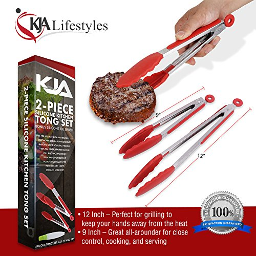 Image result for KJA Premium Kitchen Tongs