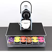 Coffee Capsule Holder Box for Dolce Gosto Drawer Style Coffee Pods Storage Organizer Space-Saving Non-Slip Sound…