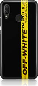 Covery Cases Off White Back Cover For Huawei Nova 3I - Black Yellow