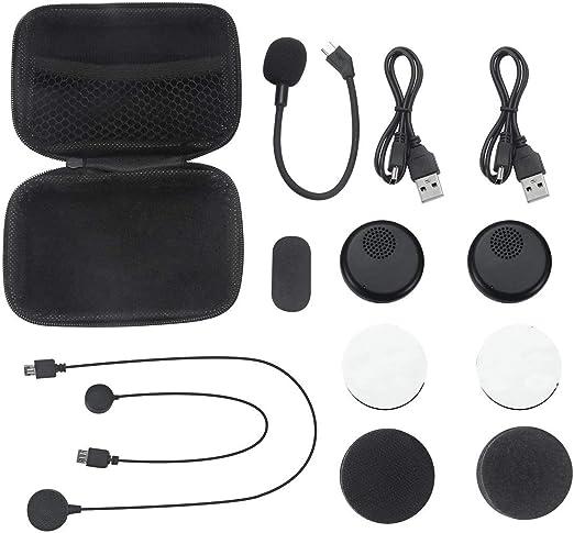 Tree-on-Life Casco de Moto Auriculares Bluetooth Auriculares inalámbricos Estéreo Dual Altavoz-Mano Micrófono Gratis para teléfono: Amazon.es: Hogar