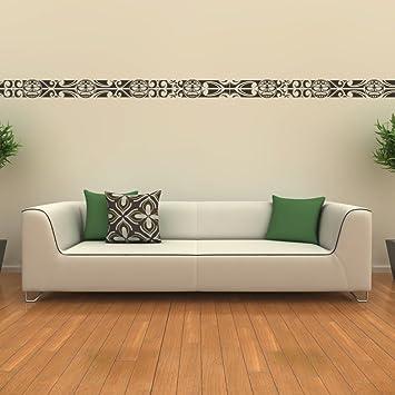 Malango® Wandtattoo   Bordüre Sonne Wandaufkleber Wanddesign Wohnzimmer  Schlafzimmer Wand Tattoo Aufkleber Design Ca.