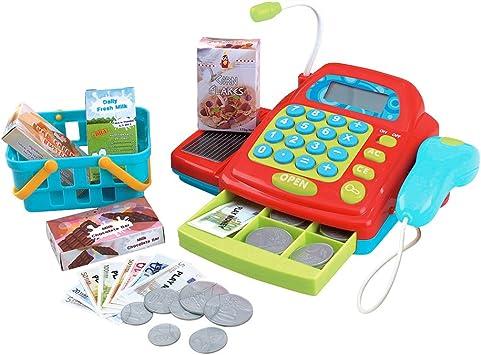 PlayGo - Caja registradora eléctrica con accesorios (44584 ...