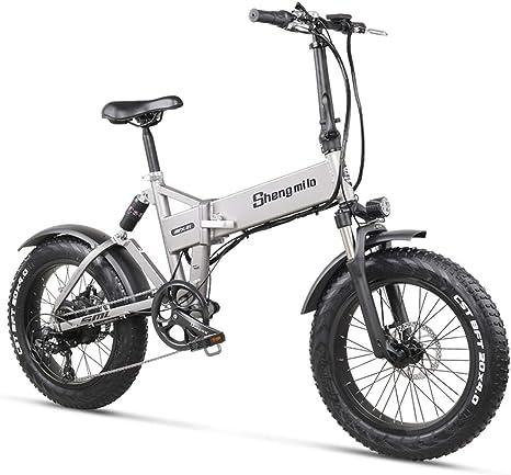 WFIZNB Ebike Bici eléctrica 48V500W montaña de la Bicicleta de ...