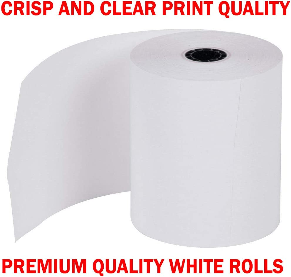 Super Value Pack from BuyRegisterRolls All 1-Ply 3 inch x 165 Paper 200 Rolls Star MICRONICS SP700