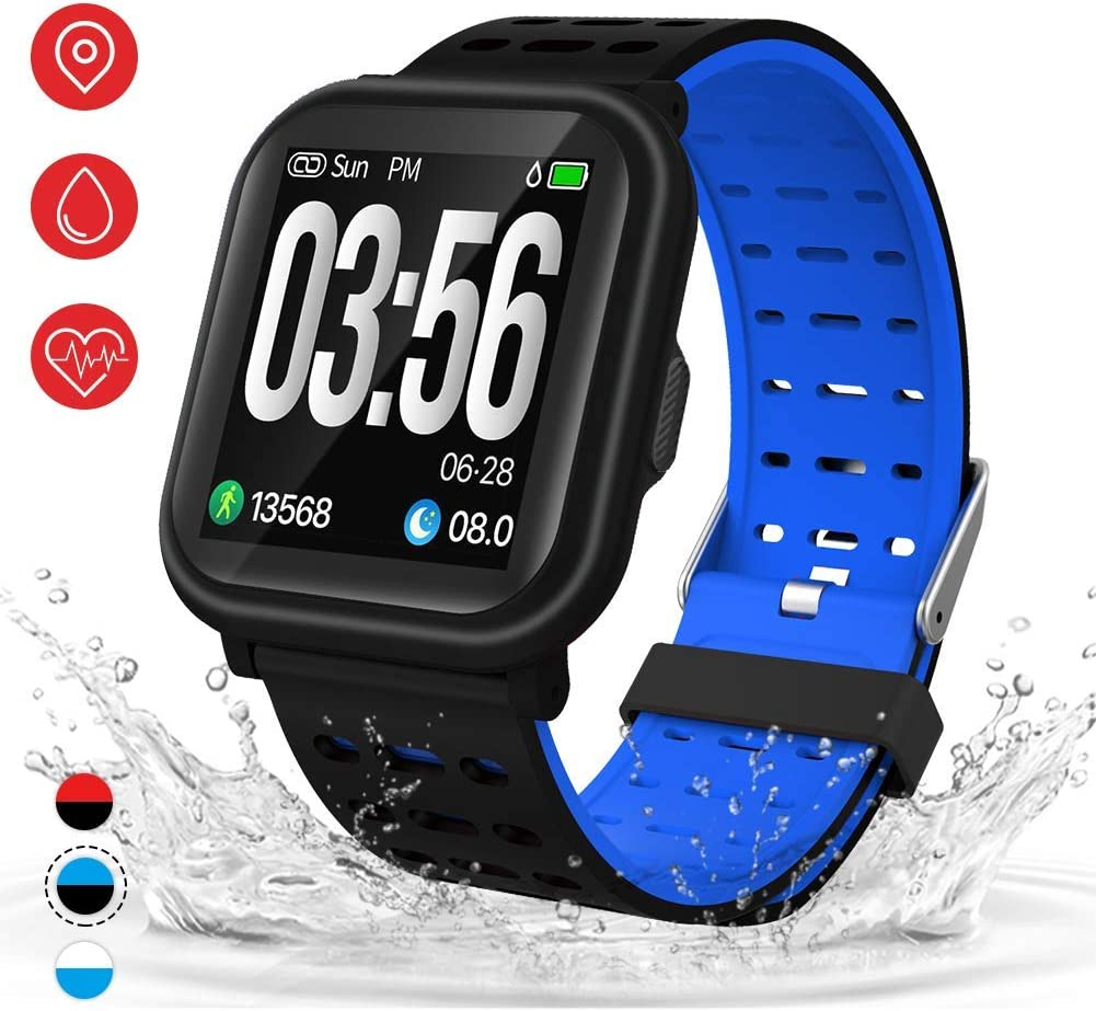 AKASO NEON 1 Fitness Tracker, Activity Tracker Fitness Watch with Heart Rate Monitor, IP67 Waterproof Smart Watch with Sleep Monitor, Calorie Counter, Pedometer