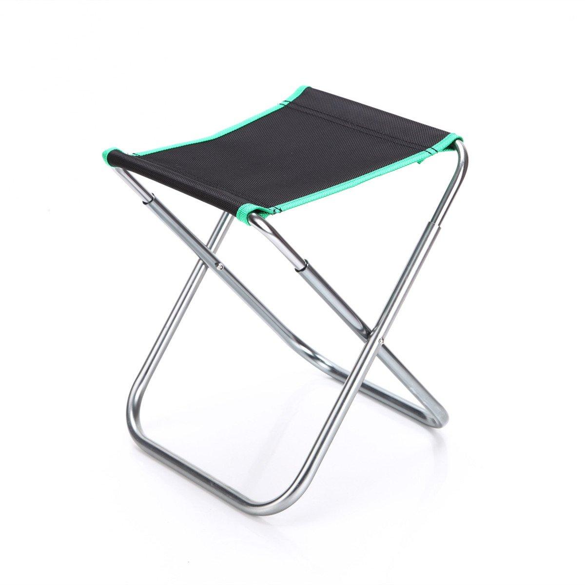 Nueva port/átil ligero plegable taburetes al aire libre silla ideal para camping pesca
