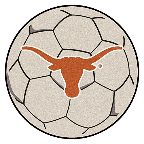FANMATS NCAA University of Texas Longhorns Nylon Face Soccer Ball ()