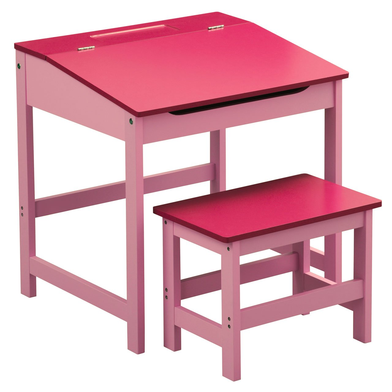 CHILDRENS PINK DESK AND CHAIR SET PRIME FURNISHING