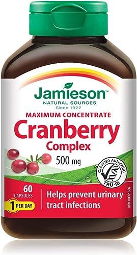 Jamieson Cranberry 500mg 60Capsules