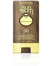 Sun Bum Premium Sunscreen Face Stick, SPF 30, 1 Count, Broad Spectrum UVA/UVB Protection, Paraben Free, Gluten Free, Oil Free