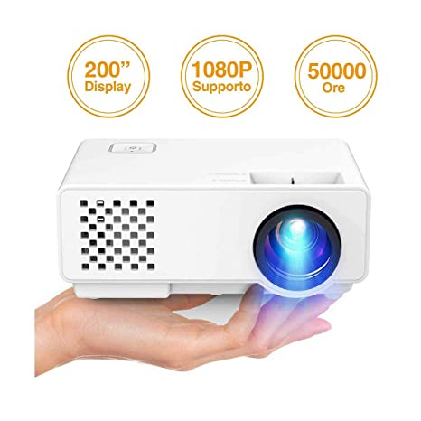 Ai LIFE Proyector Video proyector Mini proyector portátil de 4200 ...
