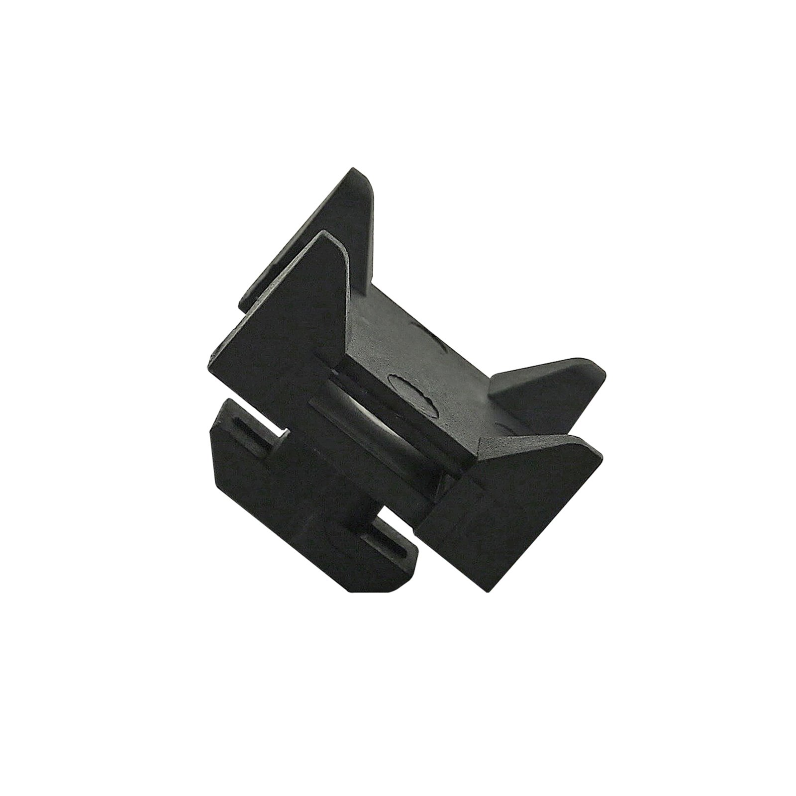 80/20 Inc., 12316, 15 and 40 Series, Nylon Cable Tie Mounting Block, 25 Pack