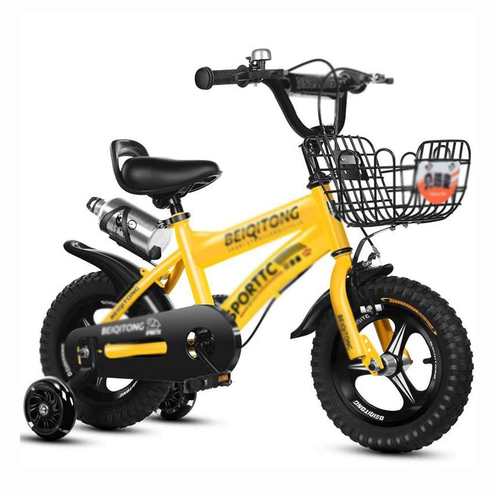 子ども用自転車 子供の自転車シングルスピード自転車男の子女の子自転車学生自転車高炭素鋼フレーム、12