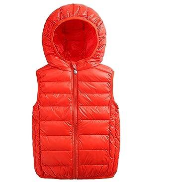 73fae7701 Amazon.com  Aivtalk Boys Zip Puffer Down Vest Toddler Baby Hooded ...