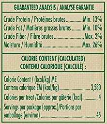 FELINE GREENIES PILL POCKETS Cat Treats Chicken, 45 Treats, 1.6 oz. (Pack of 6)