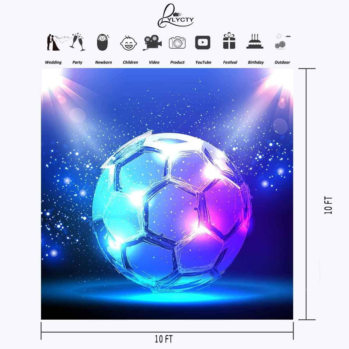 GoEoo Digital Photography Wallpaper Studio Props Vinyl Background World Cup 2018 Backdrops 7X5FT GoEoo/_dn060