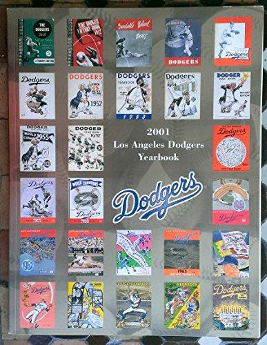 2001 Los Angeles Dodgers Yearbook