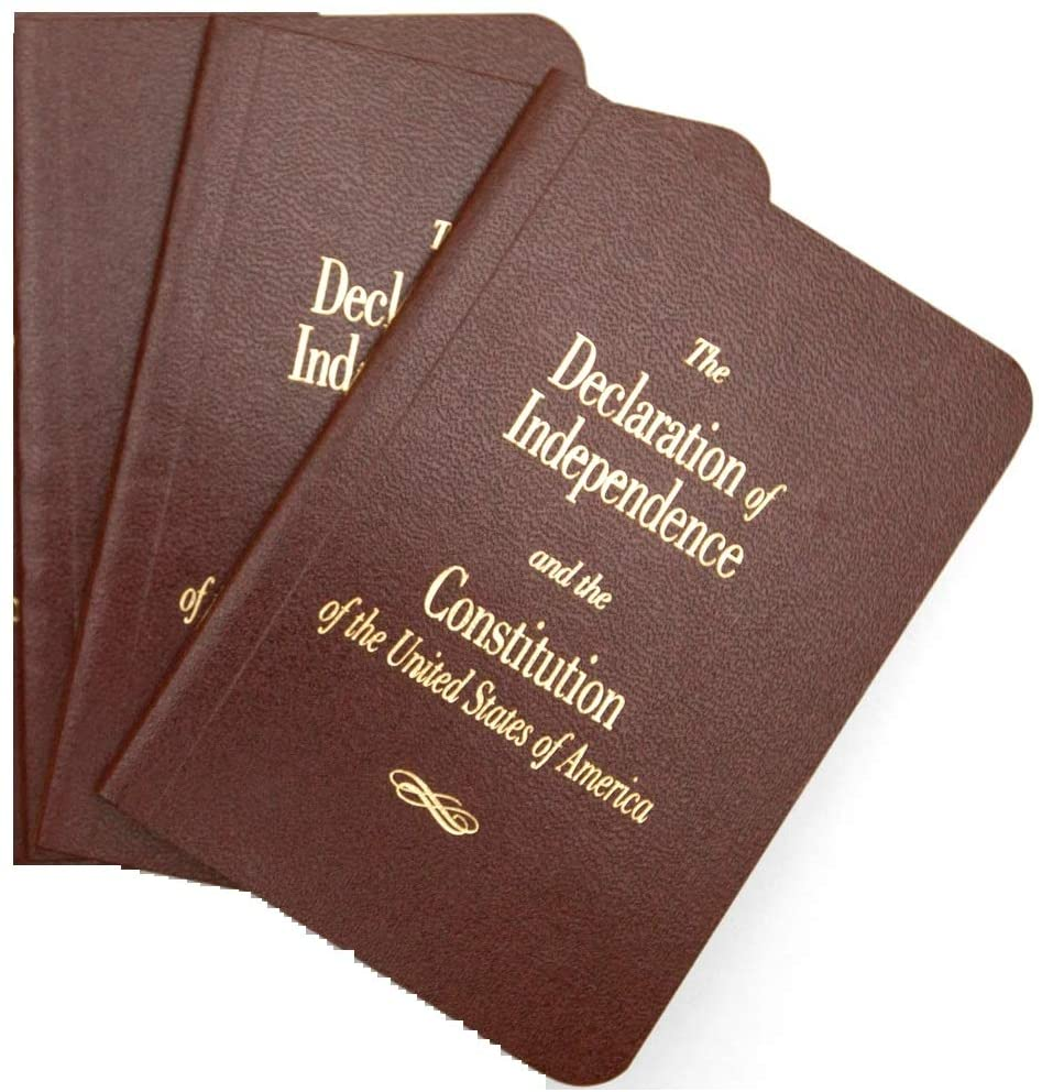 3- Pocket U.S. Constitution and Declaration of Independence (Three Pack)