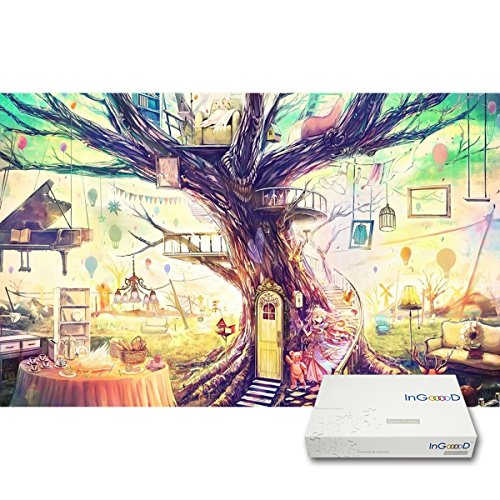 Ingooood- Imagination Series- Dream House Of Young Lady- Jigsaw Puzzles 1000 Pieces for Adult (Series Imagination)