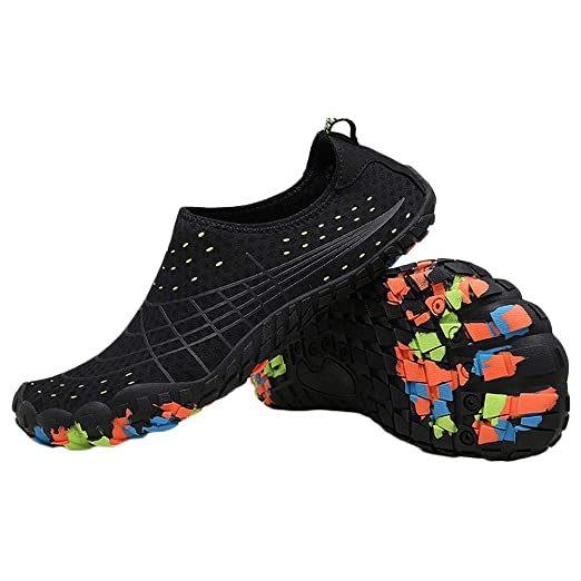 Unisex Water Shoes Quick-Dry Barefoot Flexible Swimming ...