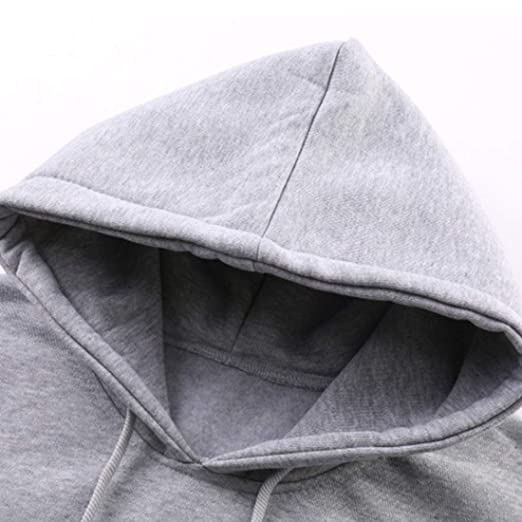 Inlefen Men Hooded Sweatshirt Long T-Shirt Man Pullover Coat Outwear at Amazon Mens Clothing store: