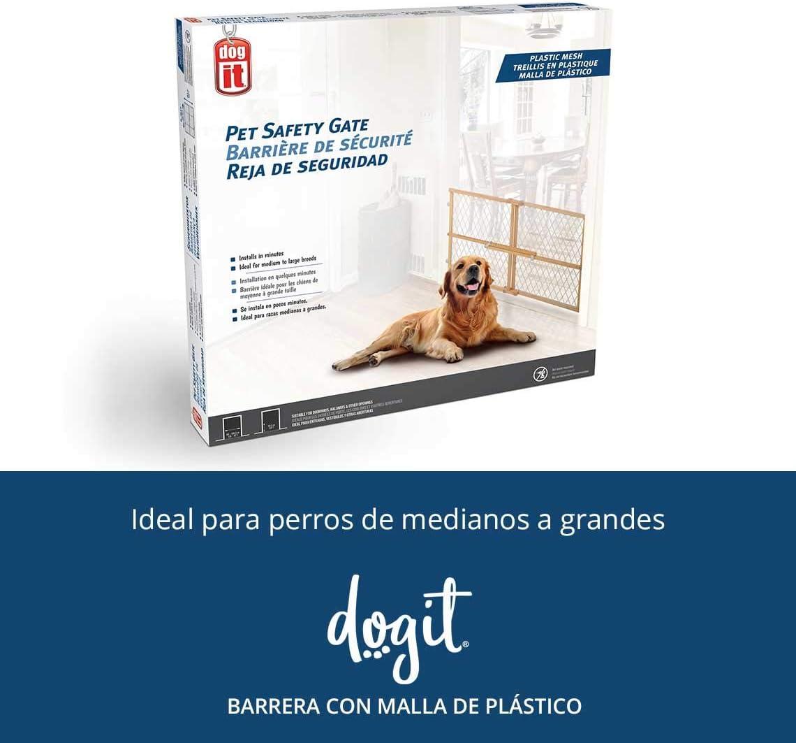 Dogit 70622 Barrera Extensible de Madera: Amazon.es: Productos para mascotas