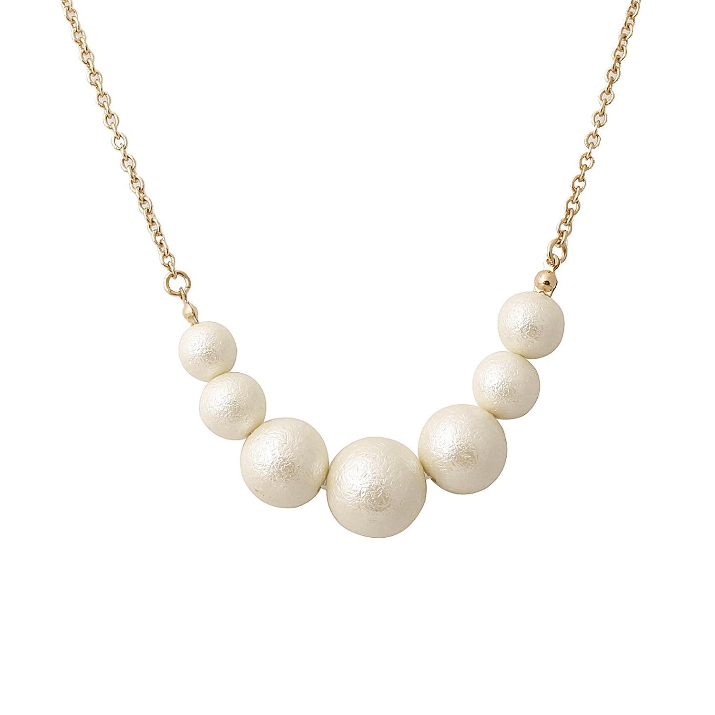 Fasherati simulé collar de perlas para las mujeres